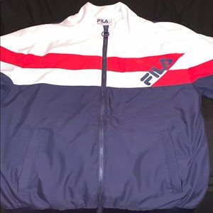Men's Fila Zip-Up Jacket (Medium)